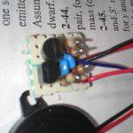 圧電ブザーを鳴らす