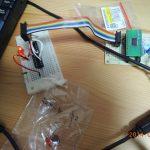 AVRライタ usbaspをツェナーダイオードなしで、atmega328pと青色LEDでつくる