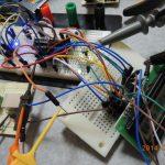 大気圧をキャラクタLCDに表示しました