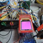 aitendoのTFT液晶モジュールZY-FGD1442701V1, ST7735をMAX II CPLDで駆動