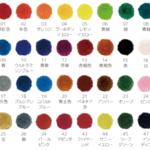シュトックマーのクレヨン。8, 12, 16, 24色のセットに含まれる色は?